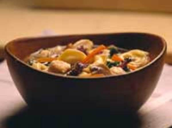 A Great Recipe For Chicken Tortellini!  It Has Alot Of Healthy Ingredients & Tastes Delicious!
