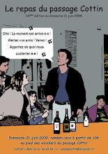Photo: Dimanche 21 juin 2009 - 24° édition du repas du passage Cottin
