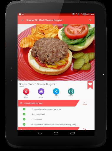 Burger And Pizza Recipes 25.7.5 screenshots 14