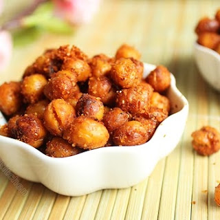Roasted Chickpeas - Spicy Version / Oven Roasted