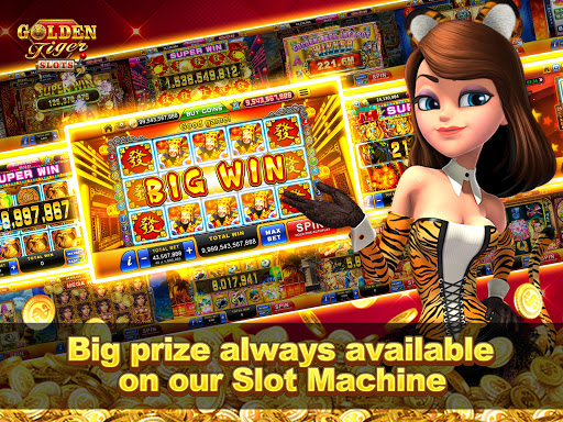 Golden Tiger Slots - Online Casino Game 1.3.0 screenshots 11