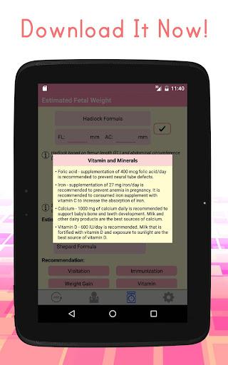 Pregnancy Calculators: Due Date & Gestational Age 2.4 screenshots 6