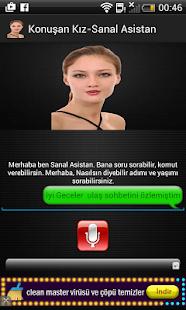 Konuşan Kız Siri Alternatifi- ekran görüntüsü küçük resmi