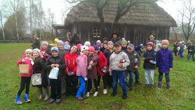 Photo: Warsztaty wielkanocne klas I w Białostockim Muzeum Wsi