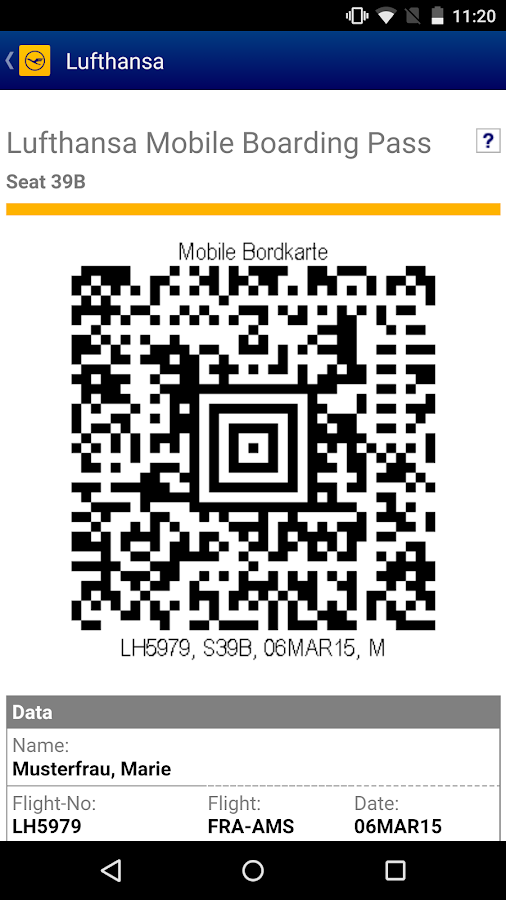 Lufthansa - screenshot