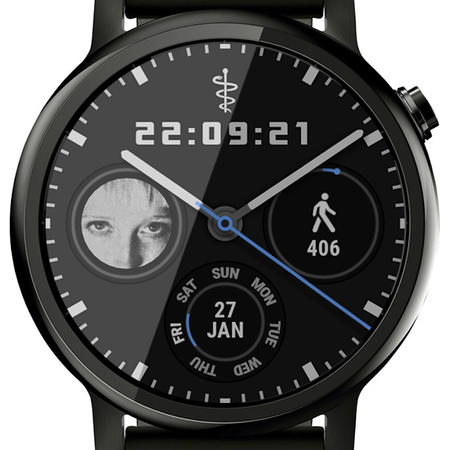 🕐 Ksana Sweep Watch Face for Wear OS- screenshot