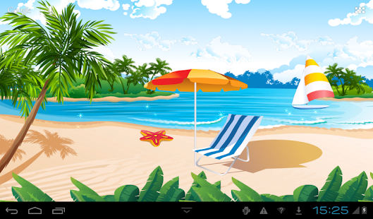 Summer Live Wallpaper- screenshot thumbnail