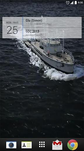 Ship the Sea 3D Live Wallpaper