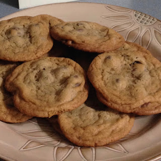 Chewy Chocolate Chip Cookies …… The Best!.