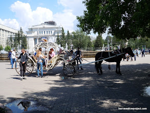 Photo: Carriage rides in Novosibirsk