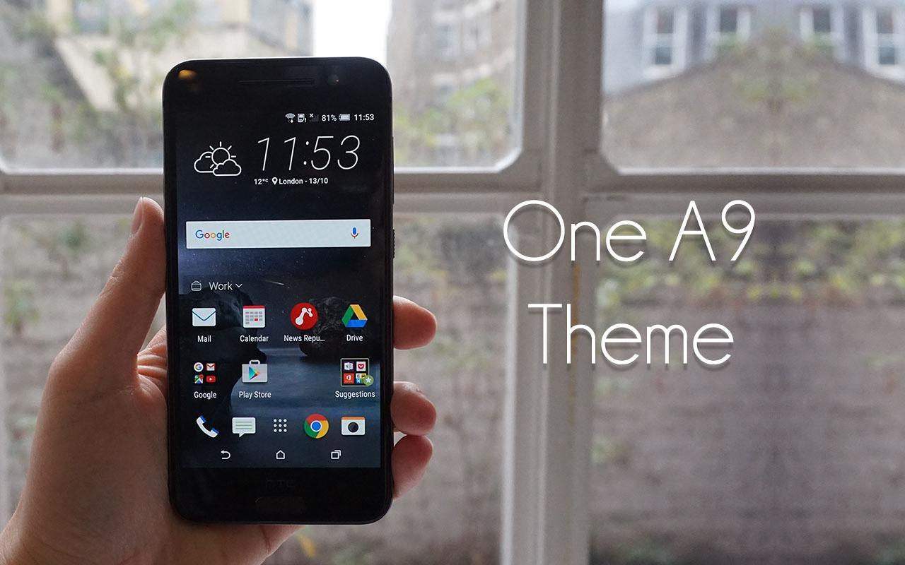 Google themes london - A9 Launcher And Theme Screenshot