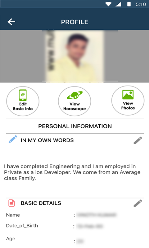 Multimatrimony -Tamilmatrimony- screenshot