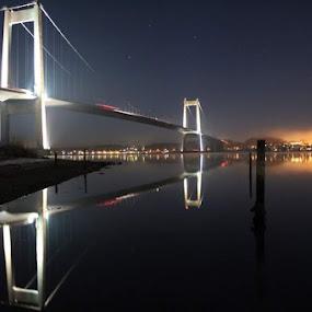 Lillebælt broen DK by Karl Erik Straarup - Buildings & Architecture Bridges & Suspended Structures