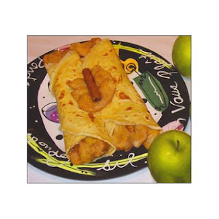 Sizzling Cinnamon Apple Slices Using Stevia