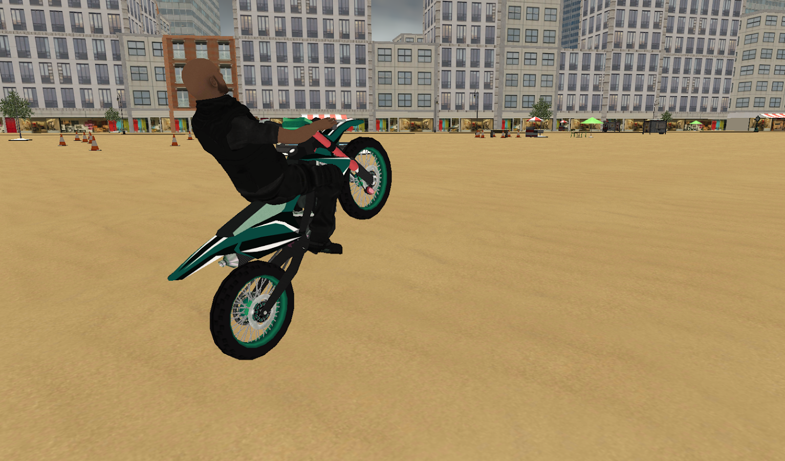 Dirt bike New York City Rally- screenshot