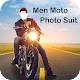 Men Moto Photo Suit: Stylish Bike Photo Editor Download on Windows