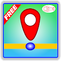 My Location Maps GPS icon