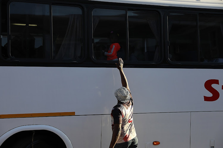 Nigerian nationals are being repatriated this week following a wave of xenophobic violence in South Africa. Families boarded buses in Johannesburg on September 11 2019.