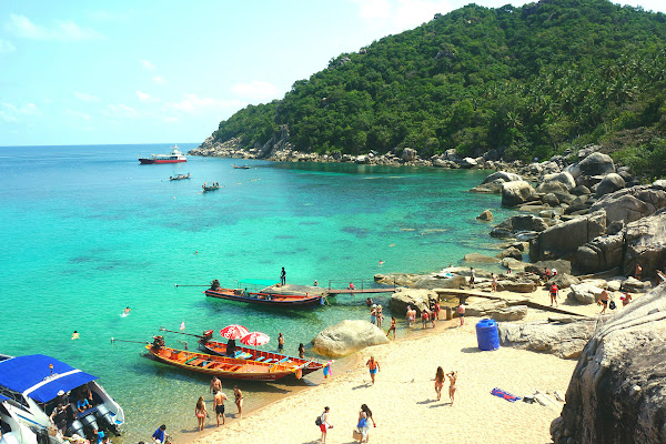 Continue to Mango Bay on Koh Tao