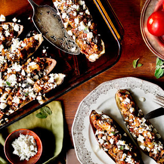 Eggplant Baked With Tomatoes and Ricotta Salata