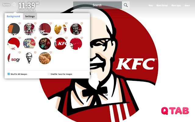 KFC New Tab KFC Wallpapers