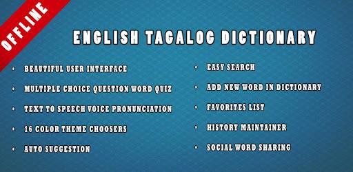 English Tagalog Dictionary - Apps on Google Play