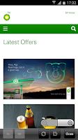 Screenshot of BP UK