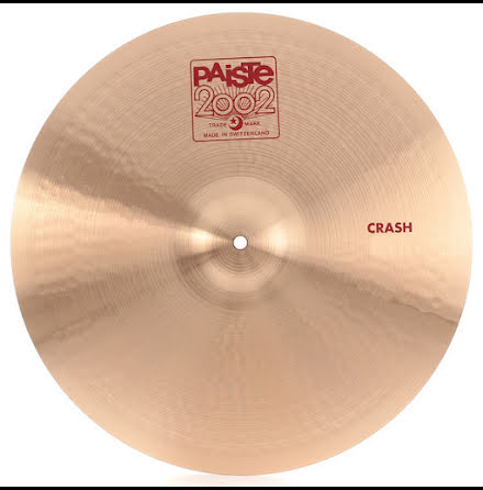 "18"" Paiste 2002 - Crash"