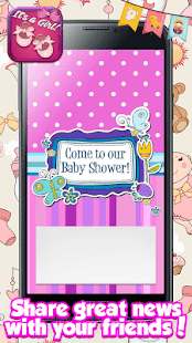 Baby Shower Cards for Girls: Greeting & Invitation