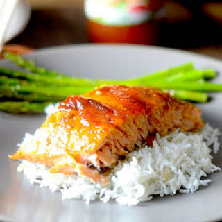 Sweet Chili Salmon.