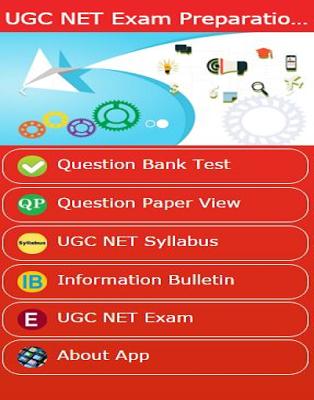 UGC NET Preparation App - screenshot
