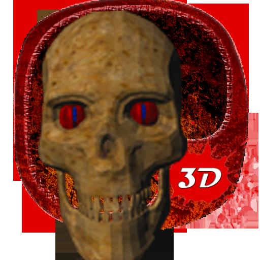 Skull Axe 3D Theme