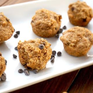 High Fiber Chocolate Chip Mini Muffins