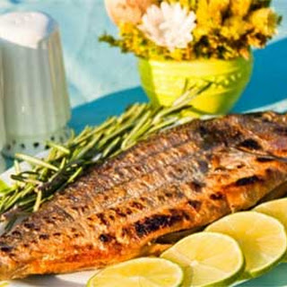 Grilled Whole Sea Bream with Rosemary