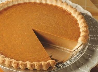 Pumpkin Pie Recipe 1932