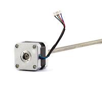 BCN3D R19 Series Z Axis Motor and Lead Screw - Nema 14 33mm