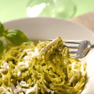 Cold Spaghetti Squash Salad with Lemon Basil Dressing Recipe