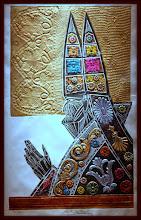 Photo: Antonio Berni El obispo 1966. Xilo-collage-relieve. Matriz xilográfica: 79,5 x 49 cm. Estampa: 91,5 x 58 cm. Colección particular, Buenos Aires. Expo: Antonio Berni. Juanito y Ramona (MALBA 2014-2015)