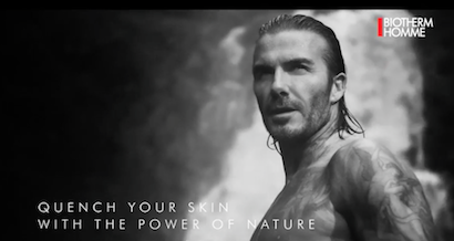 Beckham's Mid Wales advert released