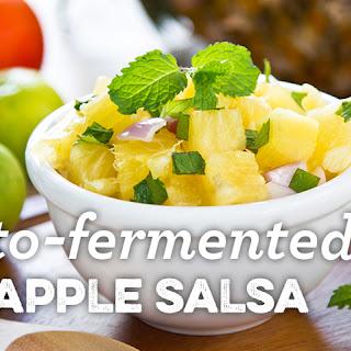 Lacto-fermented Pineapple Salsa.