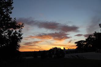 Photo: Sunsets and picnics at Templo de Debod...