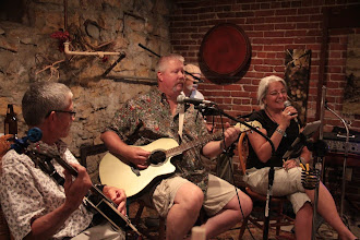 Photo: Copper Creek performing at Willow Spring Mercantile downtown Excelsior Springs Missouri.