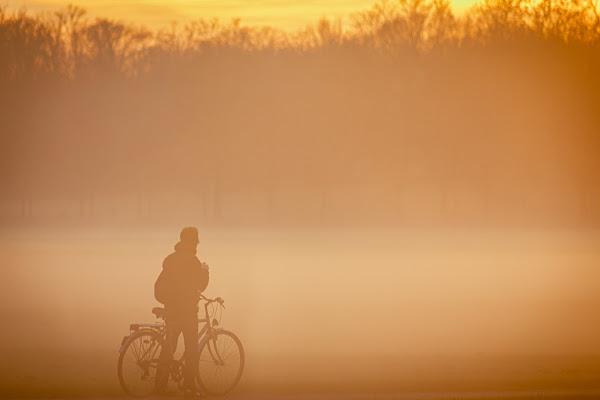 Tramonto con nebbia di Alan_Gallo