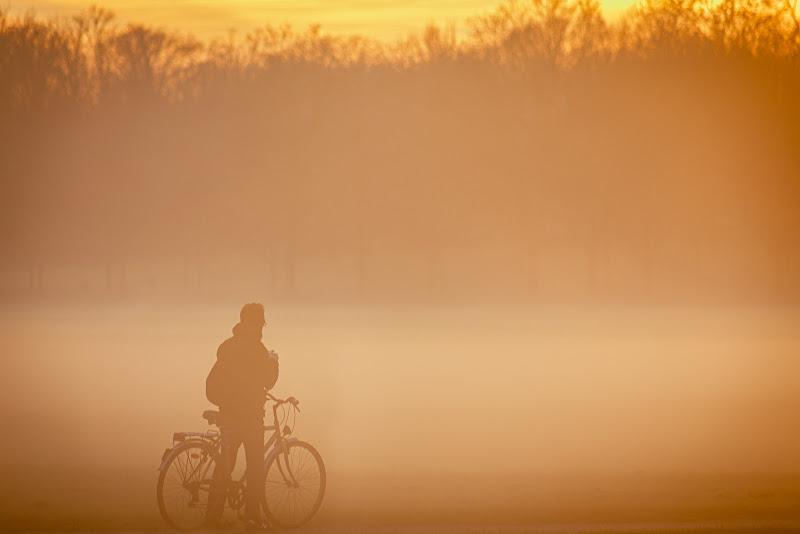 Tramonto con nebbia di Ko-Alan