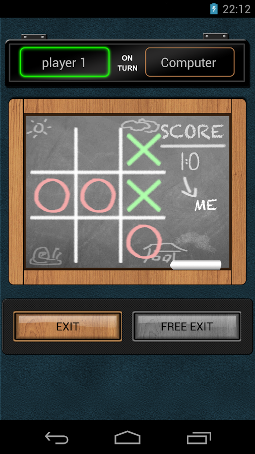 TicTacToe Challenge- screenshot