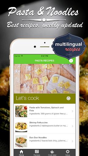 イタリアのパスタ&オリエンタル麺 クックブック。クイックとベ