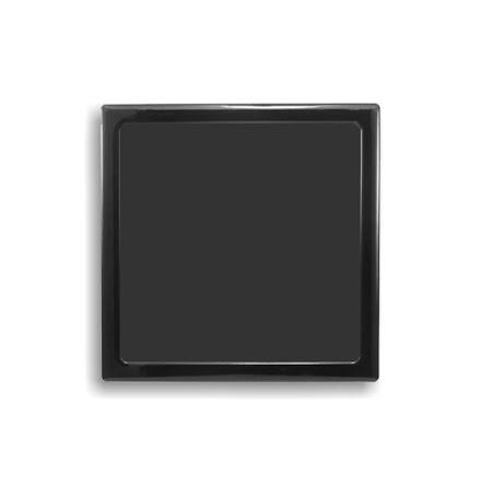 DEMCiflex magnetisk filter 180mm, firkantet, sort