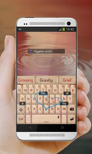 免費下載個人化APP|埃及捲軸 TouchPal 主題 app開箱文|APP開箱王
