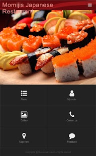 Momiji Japanese Restaurant- screenshot thumbnail