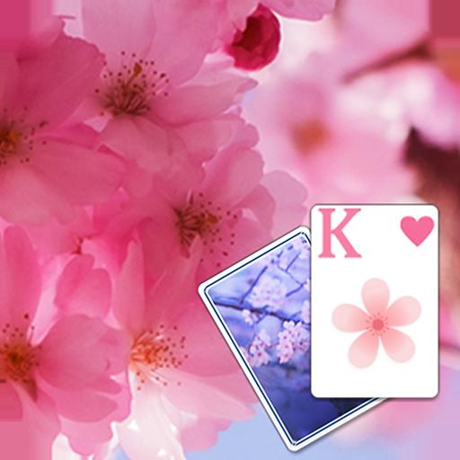 Solitaire Pink Blossom Theme 紙牌 App LOGO-硬是要APP